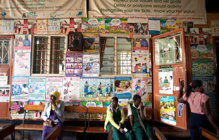 Young people in Uganda can go to youth-friendly clinics for sexual health problems.
