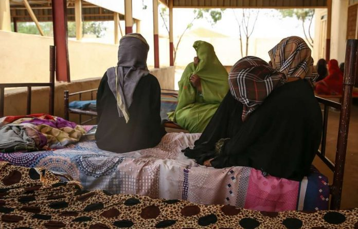 Eritrean women at a refugee camp in Sudan. Experts say kidnapping has become big business along the Eritrean border.