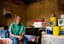 Making a difference: Bongani Ngcobo.