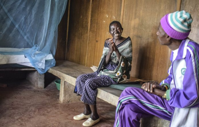 Titoia Kisemei has called the Kajiado District Hospital's manyatta TB ward home since she was diagnosed with the illness. The innovative units are aimed at helping members of the nomadic Maasai adhere to months of TB treatment.