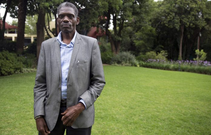 Eddie Mhlanga is one of the authors of the Choice on Termination of Pregnancy Act.