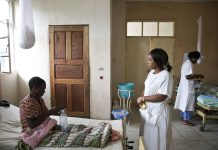 Nurses make up 80% of health workers in Lesotho. But they have little power to help their patients.