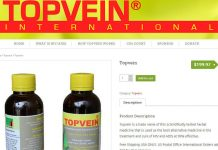 Topvein was marketed as a cure for AIDS