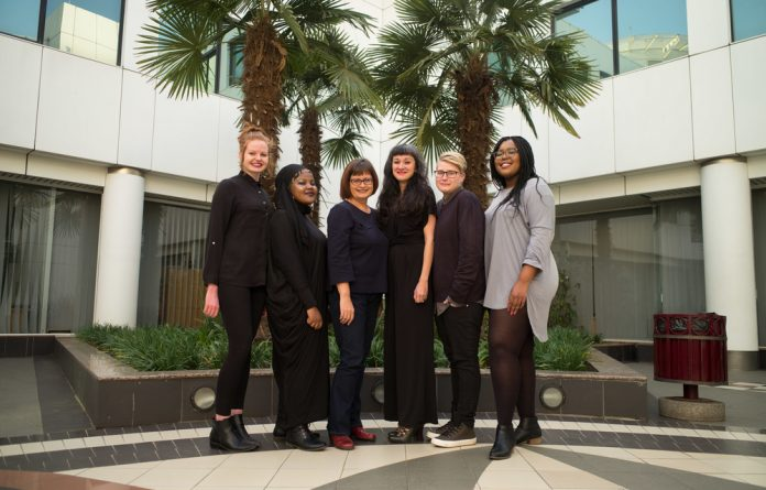 They're not just journalists: The Bhekisisa team handles everything from writing