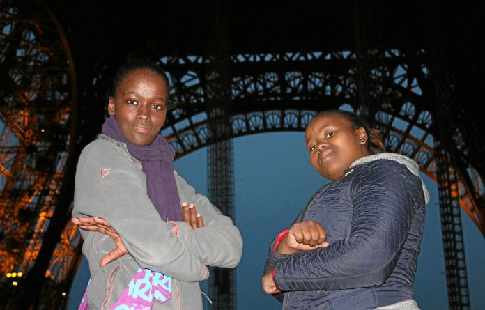 Survivors: Phumeza Tisile and Xolelwa Joni went to Paris to tell a world conference about their battle with extensively drug-resistant tuberculosis.