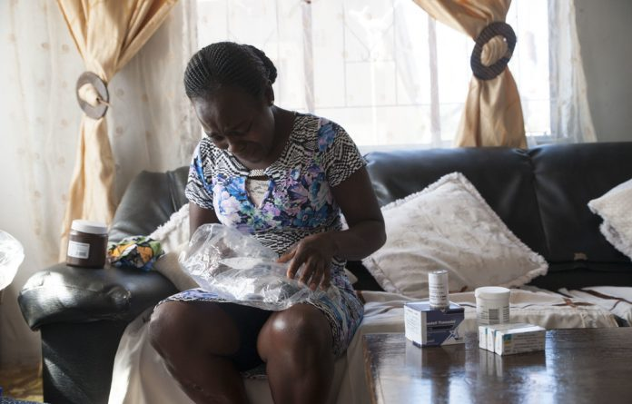 Cervical cancer patient Alice Sibiya has waited more than one year to receive treatment.