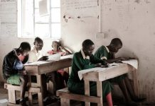 Young girls like those at Indupa Primary School near Kajiado face female circumcision.
