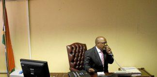Health Minister Aaron Motsoaledi.