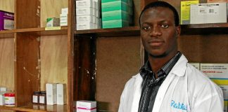 Geofrey Yambayamba is taking his passion for pharmaceutics to Tanzania's government to get his country manufacturing medicine.