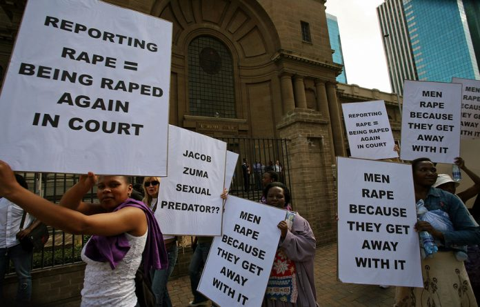 South Africa is a country of broken systems. Insufficient health resources are preventing traumatised rape victims from turning to violence themselves