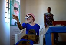 A girl living with albinism has her eyes tested. A new regional plan by the African Commission on Human and People's Rights calls for the affordable provision of eye care and sunscreen to people living with the condition.