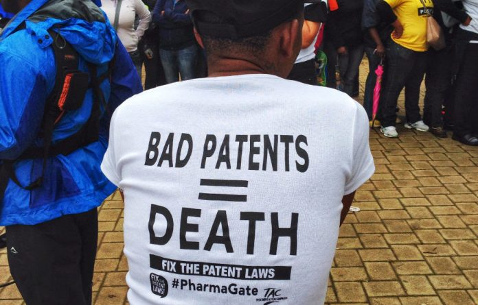 Activists continue to fight to lower the price of drug patents.