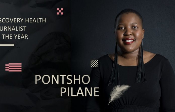 Bhekisisa reporter Pontsho Pilane has scooped the prestigious Discovery Health Journalist of the Year award.