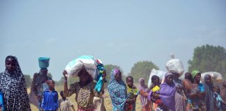 The conflict between Boko Haram and Nigerian government forces has displaced 2.6 million people.