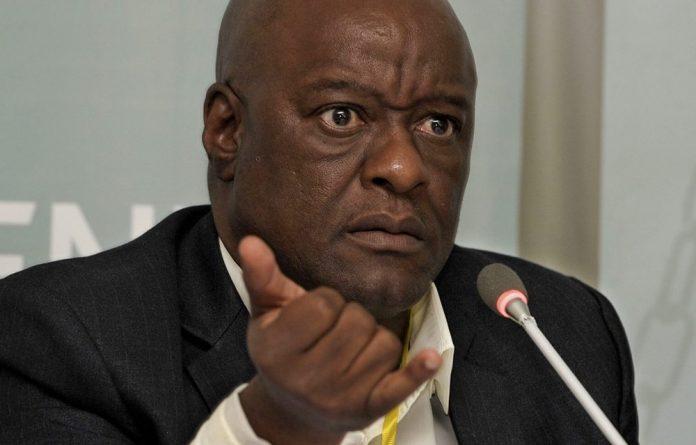 Former head of the Gauteng department of health Barney Selebano