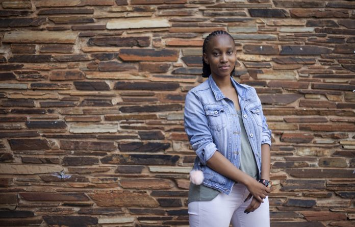 Ursula Kekana is slowly overcoming her anxiety caused by her heavy menstrual cycle.