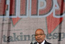 Jacob Zuma's political leadership on HIV and Aids is inconsistent.
