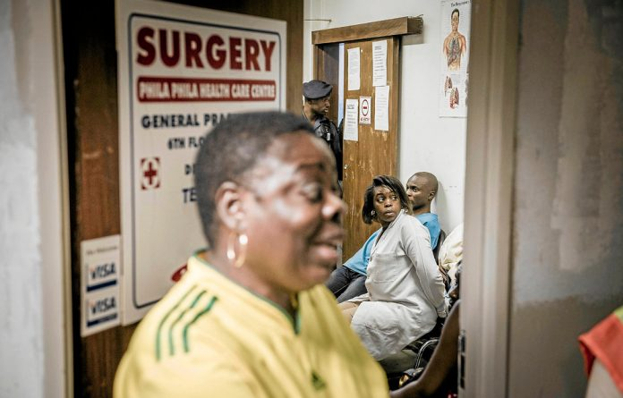 Lives at risk: Police arrested six people in Johannesburg last week for running an illegal abortion clinic.