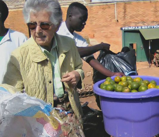 Sister Anna's work relies on donations from well-wishers and her Franciscan community back home