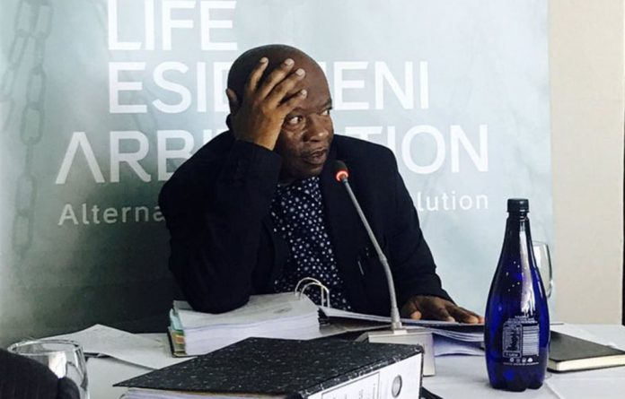 Levy Mosenogi was the man tasked to lead the relocation of almost 2000 mental health patients out of state-sponsored private care at Life Esidimeni facilities.