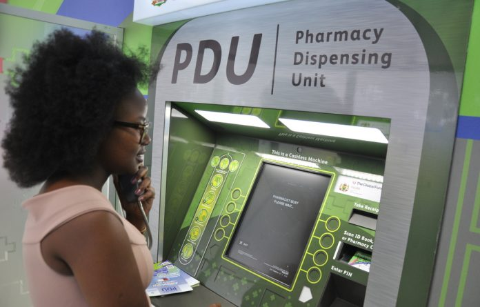 South Africa is the first country in the world to use ATM-like machines to dispense chronic medication.