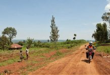 Bikers travel to health communities to deliver TB treatment.