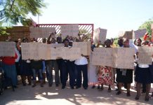 Employees at Messina hospital strike against the actions of their clinical chief executive officer Dr Allick Dube.