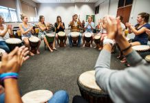 African drumming can help treat people with depression and other mental illnesses.
