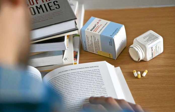 Unprescribed: Students are using the drug Ritalin to stay focused for exams.