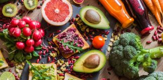 #MeatFreeMondays: A collection of fruit, vegetables, spices and juices.