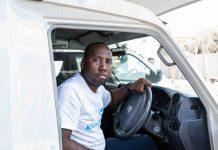 Rustenburg MSF driver Lebogang Seketema