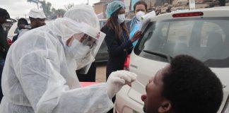 Community COVID19 testing in Alexandra Gauteng