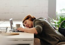 woman tired file photo