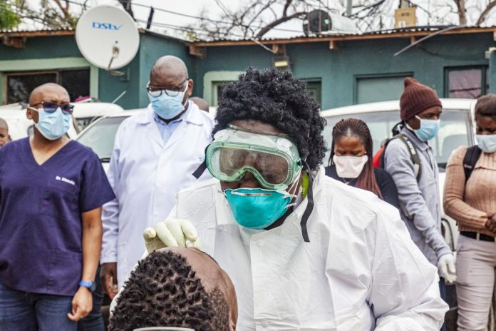 Alex coronavirus screening Gauteng health department