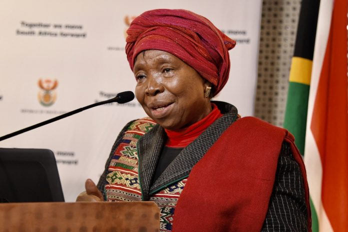 Dlamini Zuma GCIS