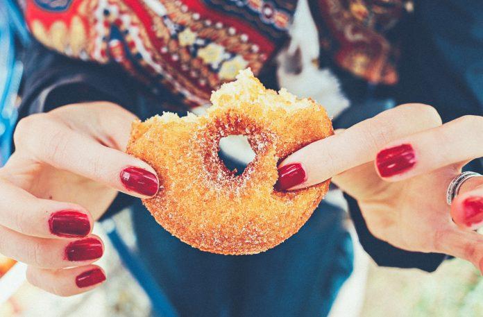 Bite of a Doughnut
